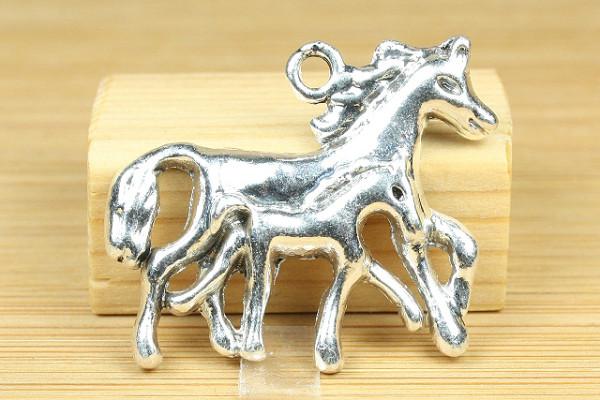 Motivanhänger, Pferd mit Fohlen, 30x27 mm