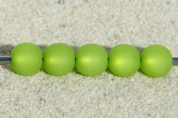 Polaris Kugel, matt, hellgrün, 10mm