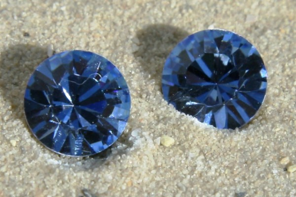 SWAROVSKI® ELEMENTS Chaton 1028 ss39, Light Sapphire, 8mm