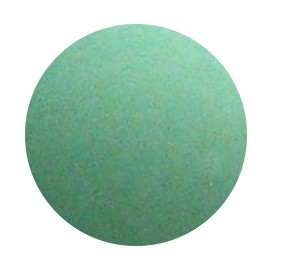 Polarisperlen, matt, pattina grün, 10mm