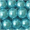 Glas Wachs Perlen, metallicmint, 4mm