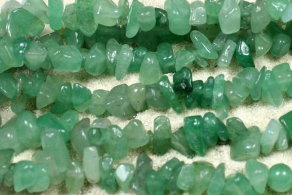 Aventurin, Edelsteinsplitter, grün, 50 Stück