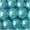 Glaswachsperlen, metallicmint, 6mm