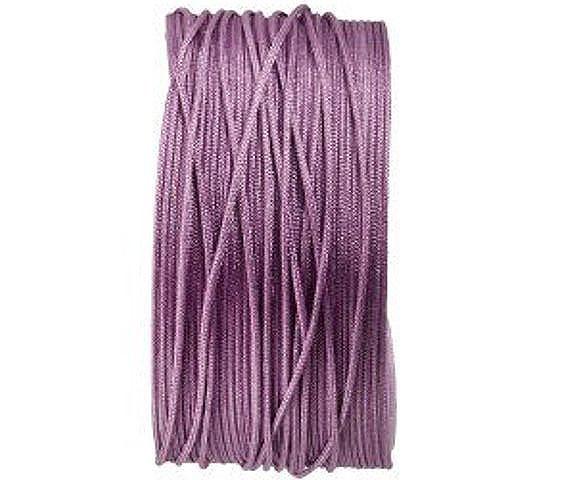 Makrameeband, 25m, rund, lila, 0.8mm