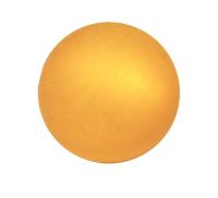 Polaris Kugel, matt, safran, 10mm