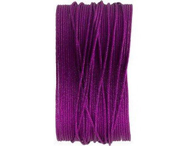 Macrameeband, 25 Meter, violett, 0.8mm