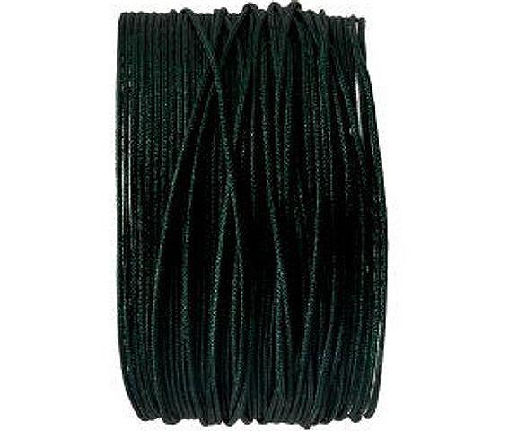 Makrameeband, 25m, rund, tannengrün, 0.8mm