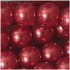 Glaswachsperlen, berryrot, 10mm