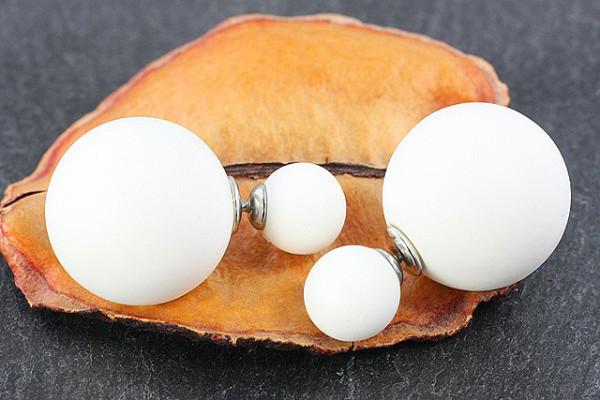 Ohrstecker perle chirurgenstahl