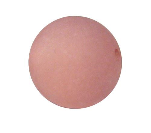 Polaris Kugel, matt, rosybrown, 10mm