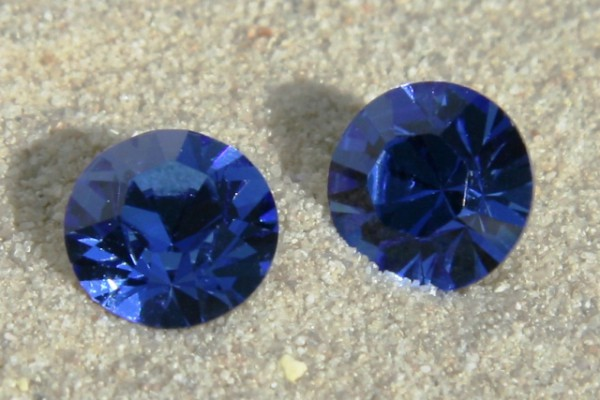 SWAROVSKI® ELEMENTS Chaton 1028 ss29, Sapphire, 6mm
