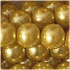 Glaswachsperlen, gold, 10mm