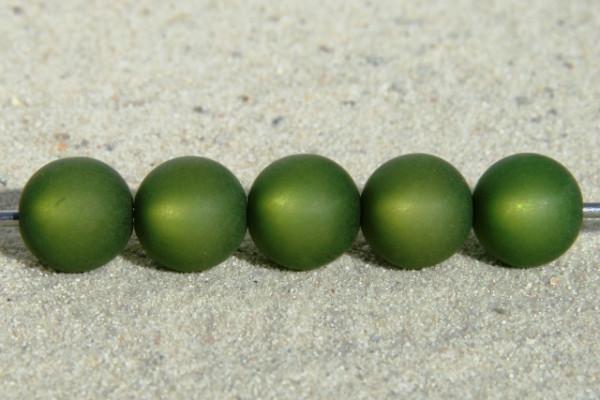 Polaris Kugel, matt, olivgrün, 10mm