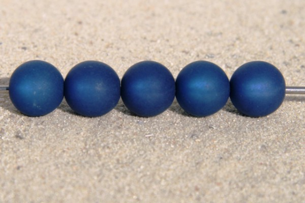 Polaris Kugel, matt, dunkelblau, 8mm
