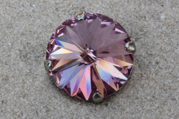 SWAROVSKI® ELEMENTS 1122 - Rivoli im Kessel, Light Amethyst, 14mm