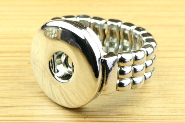 Ring für Druckknöpfe, dehnbar, Größe M