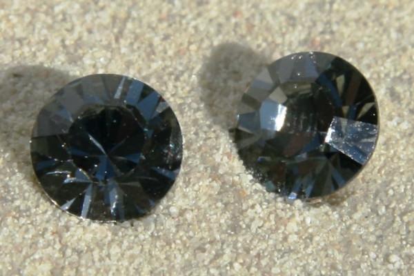 SWAROVSKI® ELEMENTS Chaton 1028 ss29, Black Diamond, 6mm