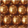 Glaswachsperlen, kupfergold, 10mm