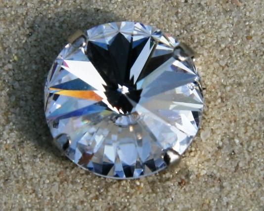 SWAROVSKI® ELEMENTS 1122 - Rivoli im Kessel, Crystal, 14mm