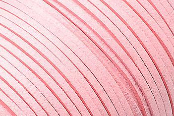 Veloursband in Wildlederoptik, flach, rosa, ca. 3x1.4mm