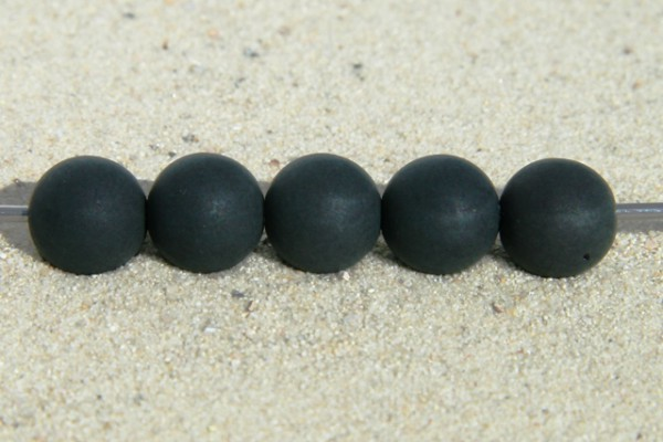 Polaris Kugel, matt, schwarz, 6mm