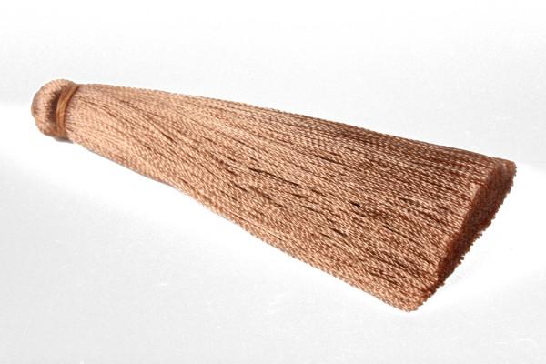 Seidenquasten, hellbraun, 7cm