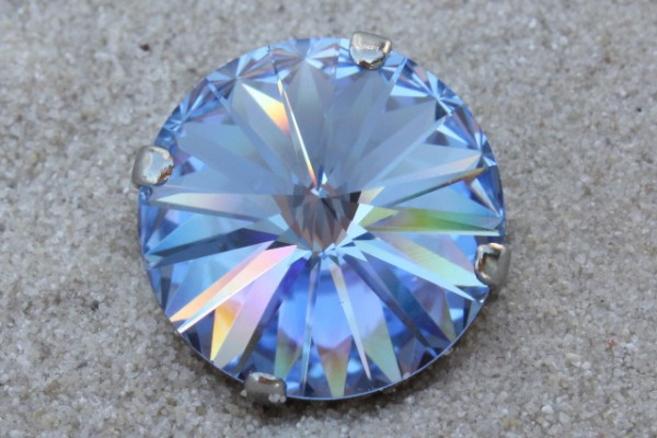 SWAROVSKI® ELEMENTS 1122 - Rivoli im Kessel, Light Sapphire, 14mm