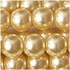 Glaswachsperlen, pfirsich II, 4mm