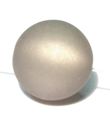 Polaris Kugeln, matt, grau, ca. 6mm