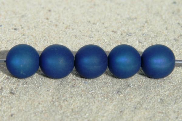 Polaris Kugel, matt, dunkelblau, 6mm