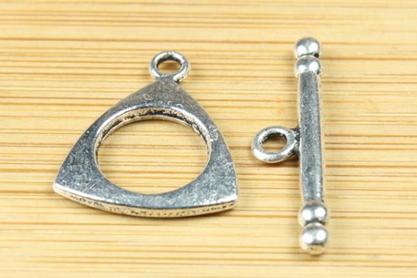 Knebelverschluss, dreieckig, 15mm
