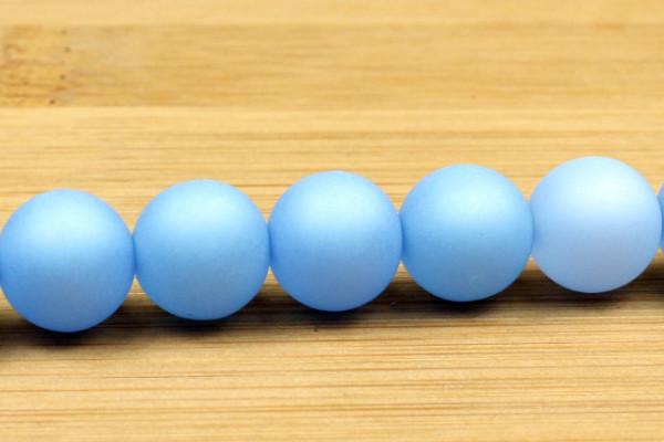 Polaris Kugel, matt, himmelblau, 10mm