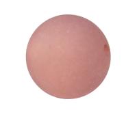 Polaris Kugel, matt, rosybrown, 8mm