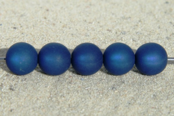 Polaris Kugeln, matt, dunkelblau, 10mm
