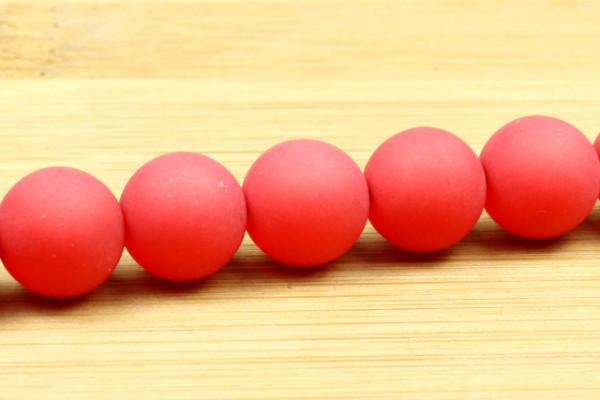 Polaris Kugel, matt, rot, 10mm