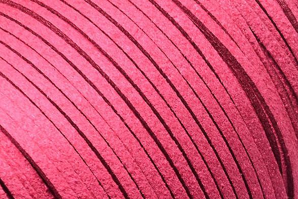 Veloursband in Wildlederoptik, flach, kamelie, ca. 3x1.4mm