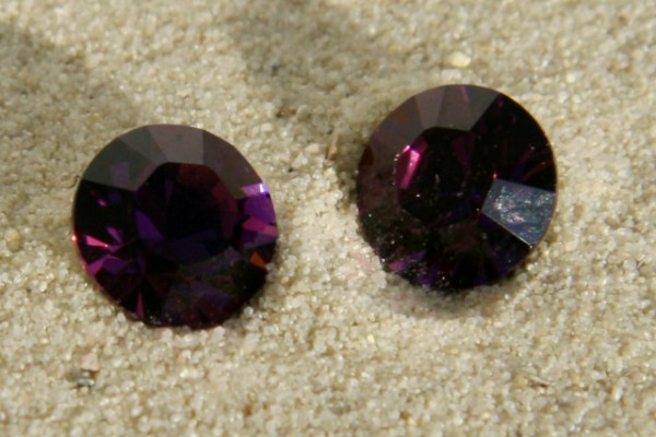 SWAROVSKI® ELEMENTS Chaton 1028 ss39, Amethyst, 8mm