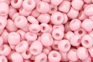 Rocailles, rund, Rose pink, 15gr, 6/0, 4mm