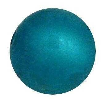 Polarisperlen, matt, indigo, 10mm