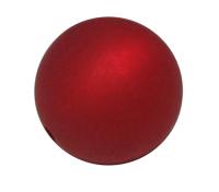 Polaris Kugel, matt, rubin, 10mm
