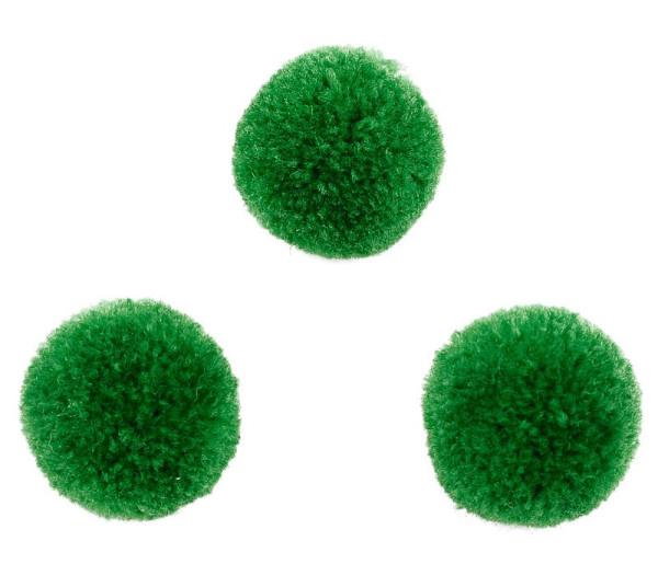 Flusenball, rund, grün, ca. 20mm